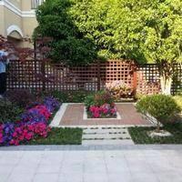 植物花境,别墅园林景观设计里的世外桃源