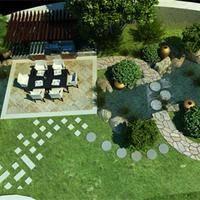 草坪在别墅园林景观设计中的主景应用